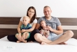 Newborn reportáž s Evkinou rodinkou